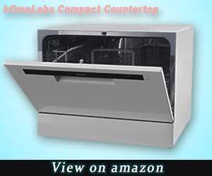 hOmeLabs Countertop Dishwasher