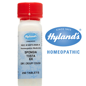 Hyland's homeopathic croup tablets