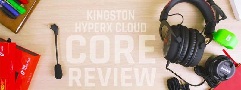 HyperX cloud core headset review