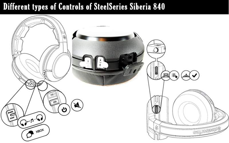 steelseries Siberia 840 controls
