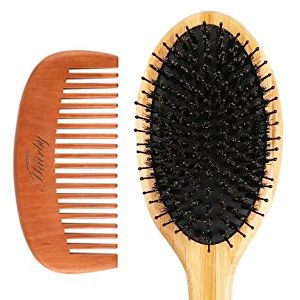 HAIRBY Oval Boar Bristle Brush review