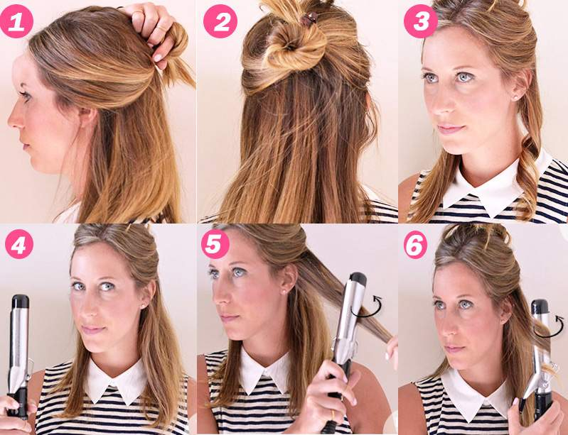 How to start curling properly