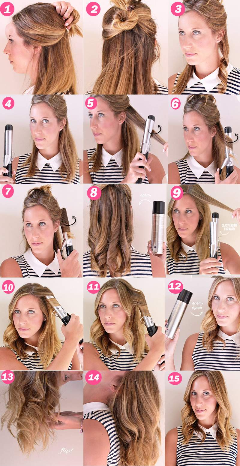 how to curling hair properly