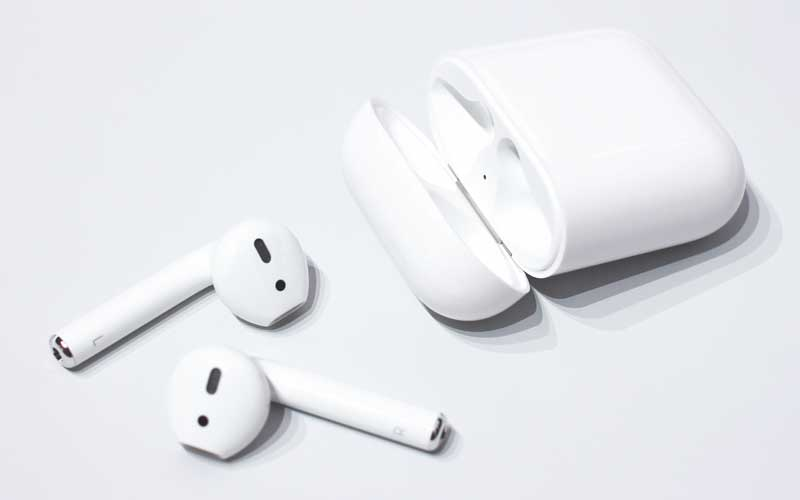 True wireless Headphones details