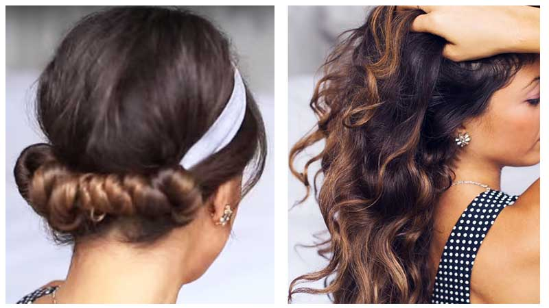 how to make heatless curl using headband
