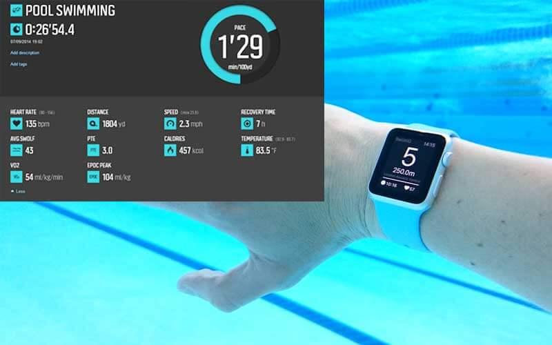 Swimming metrics importance