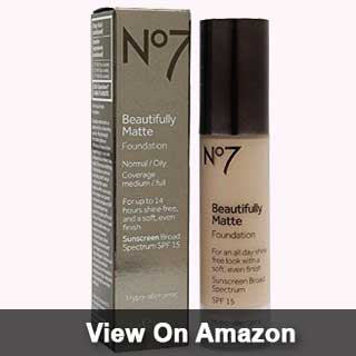 BOOTS No7 Matte Foundation review