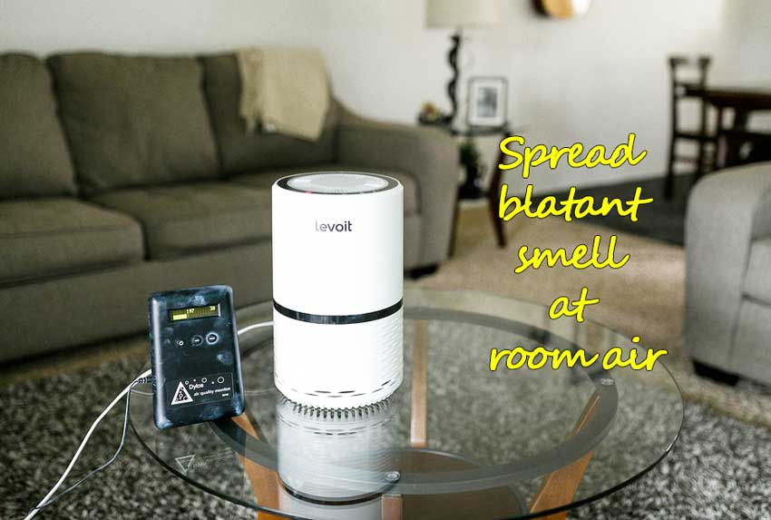Spread blatant smell at room air