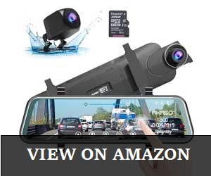 AKASO Mirror Dash Camera Review