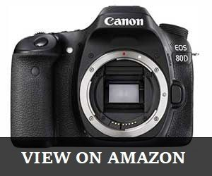 Canon Digital SLR Body EOS 80D Review