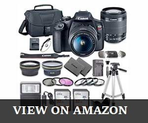 Canon EOS Rebel T7 DSLR Camera Review
