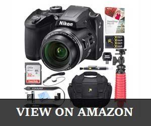 Nikon COOLPIX B500 Optical Review