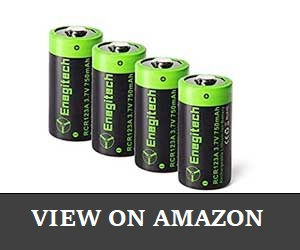 Enegitech CR123A Comaptible Arlo Batteries Review