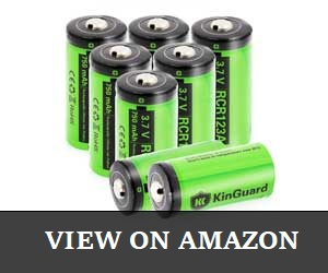 KinGuard RCR123A Batteries For Arlo Review