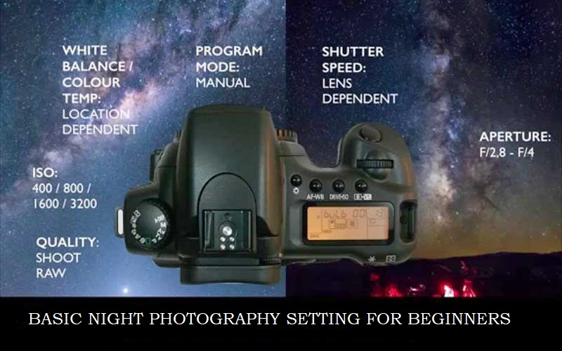 Night Photography Camera Settings for Beginners