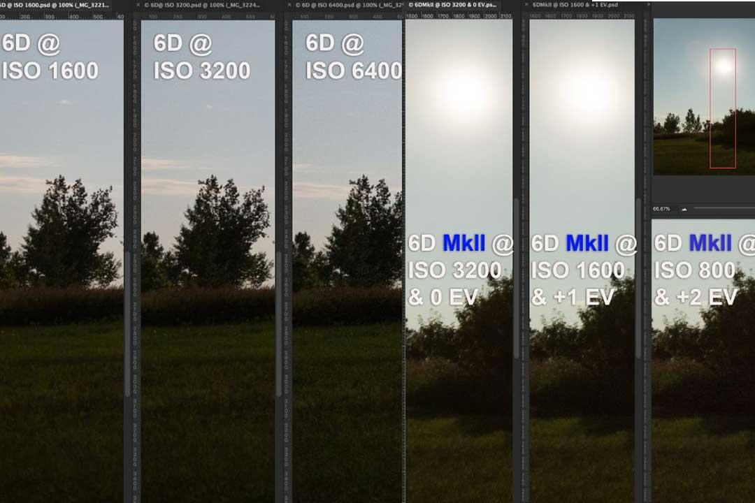 Canon 6D vs 6D Mark ll Sensor Comparison Review