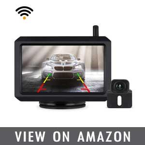 BOSCAM Waterproof Wireless Rear View Backup Camera review