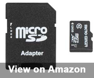 Micro Center 128GB Class 10 Memory Card Adapter