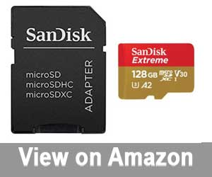 SanDisk Extreme UHS-1 SD card
