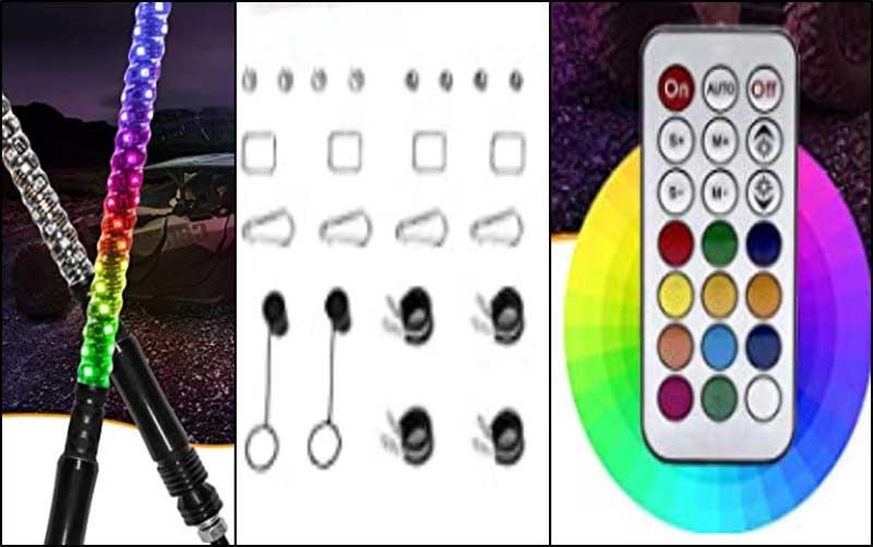 RGB LED Rock Lights Kit review
