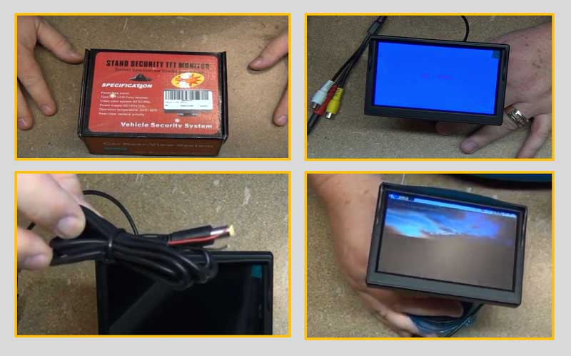 TFT LCD Car Color Rear View Monitor Screen review