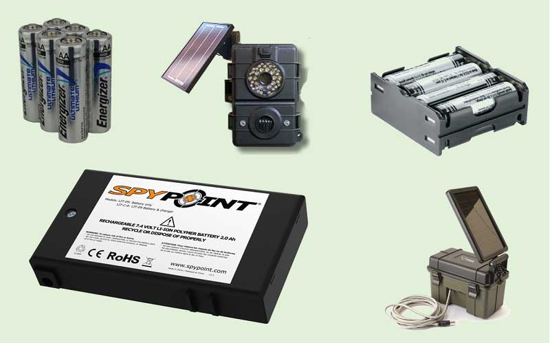 trail cameras batteries review