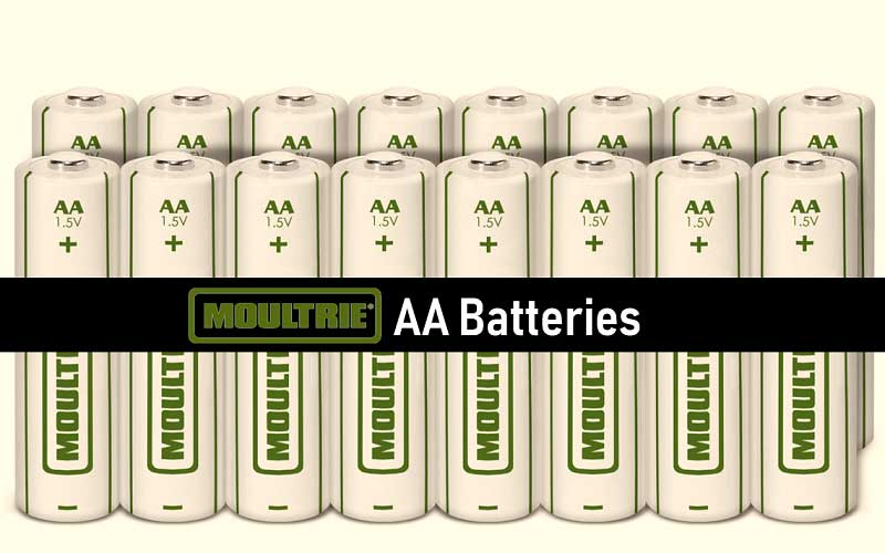 Moultrie AA Batteries review