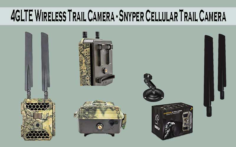 4GLTE Cellular Trail Camera by Snyper
