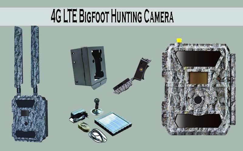 4G LTE connectivity camera