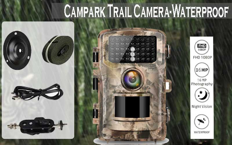 Campark wide angle detecting hunting camera