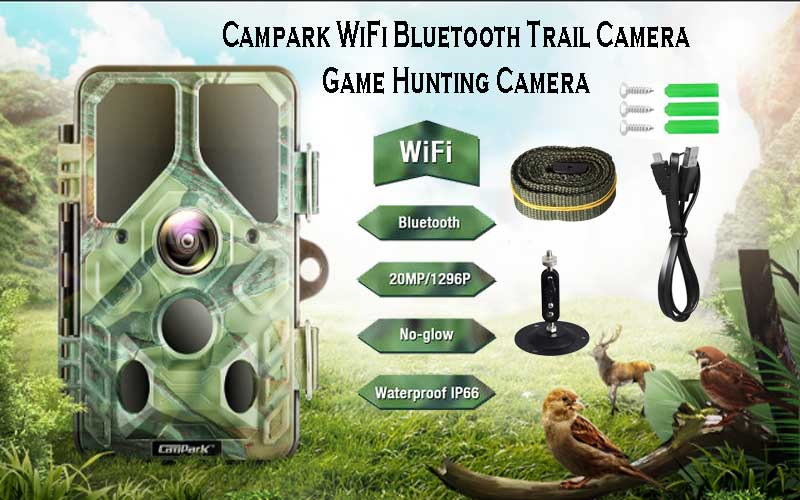 Campark motion activated hunting camera